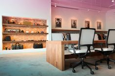 Carhartt – Work In Progress office and showroom by Fixonic » Retail Design Blog