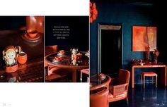 Rue Magazine - blue and orange!