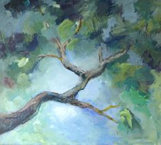 Galleri - Kari Glesnes Jørgensen Trees, Branches, Flowers, Paintings, Shape, Texture, Beautiful, Inspiration, Art