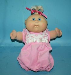 NEW CABBAGE PATCH KIDS 2014 CHRISTMAS HOLIDAY STUFFED ANIMAL PLUSH TOY BLONDE