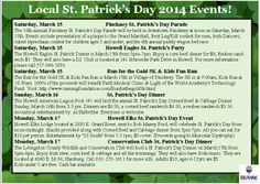 Livingston County St. Patrick's Day Events!