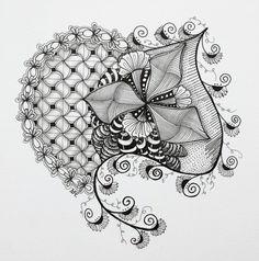 Zentangles:  Smaller Tangles