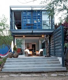 22 Most Beautiful Homes...Made From Shipping Containers! That s called living economically!
