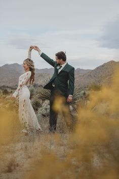 "Cookie & Mikey | ""Abbott"" gown by Daughters of Simone 