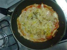 Pizza na frigideira - Receitas Exclusivas