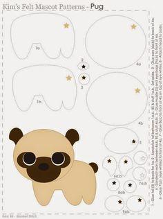 Os moldes de Cachorrinhos mais lindos da web!
