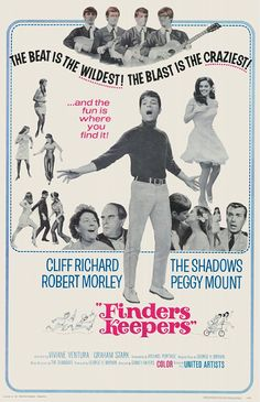 Finders Keepers (1966) starring Cliff Richard, Robert Morley, The Shadows & Peggy Mount