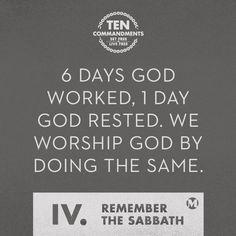 Remember the Sabbath, sermon Mars Hill, Happy Sabbath, 10 Commandments, Worship God, Words Worth, Speak The Truth, Thought Provoking, Have Time, Savior