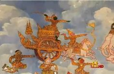 The 'Vimana' as depicted in ancient paintings!