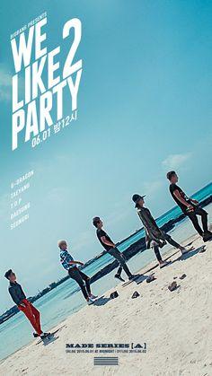 BIGBANG(ビッグバン)G-DRAGON(クォン・ジヨン)、T.O.P(チェ・スンヒョン) TAEYANG(SOL:テヤン:トン・ヨンベ)、DAESUNG(テソン:D-LITE)、スンリ(V.I:SEUNGRI) [YG LIFE] BIGBANG – MADE SERIES [A] 'WE LIKE 2 PARTY