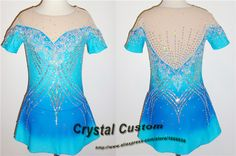 Girls Figure Skating Dress New Brand  Vogue Figure Skating Competition Dress For Women Customized  DR3231