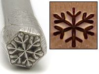 Beaducation: Snowflake Design Stamp [DS089]