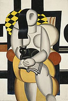 "Fernand Léger ... I was told some very sage words once by my oldest friend Dennis: ""If you like art, it doesn't matter why you like it, and you are not wrong for liking it.""    I love Léger .. no idea why, but I do."