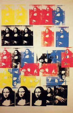 Andy Warhol Mona Lisa 1979 | Andy Warhol, Mona Lisa, 1963. (L)