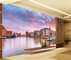 Большая фреска обои диван тв стены спальни обои море papel де parede 3d на заказ обои Украшение Дома papel parede