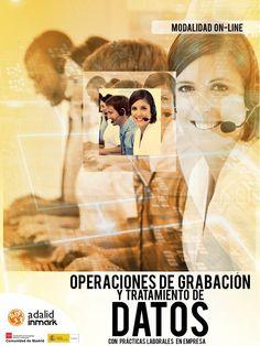 CURSO ONLINE GRATUITO--> http://ow.ly/Nsel30byHBT Hazte con tu CERTIFICADO de PROFESIONALIDAD TRATAMIENTO DE DATOS desde casa con nuestra formación online. Con 80 horas prácticas laborales en empresa.  #Madrid #curso #data #datos #informática #archivo