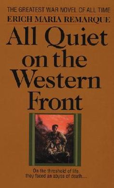 All Quiet on the Western Front by Erich Remarque is set in Germany.