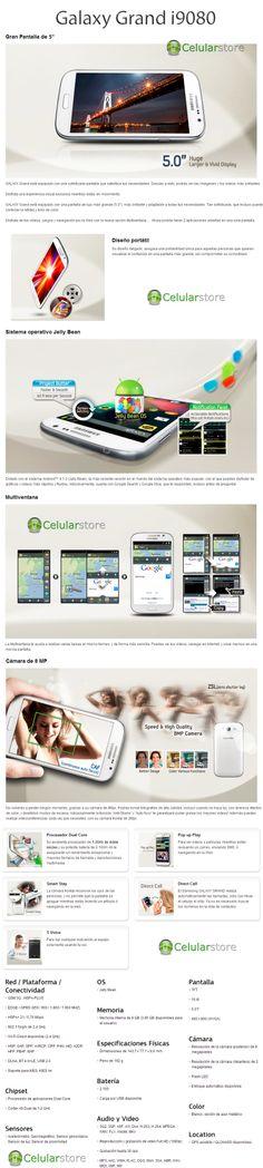 Donde comprar nuevo celular samsung grand i9080