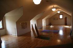 Home Yoga Design, Pictures, Remodel, Decor and Ideas - page 5. Love the attic idea. Unused space.