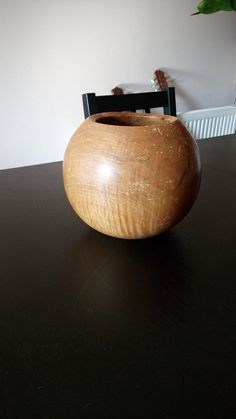Beech Ball Bowl by FromTheHeartWoodMK on Etsy Safe Food, Wood, Etsy, Beautiful, Home Decor, Decoration Home, Woodwind Instrument, Room Decor, Timber Wood