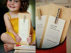 kid's daily checklist