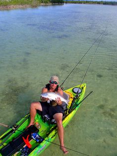 love the new RAM mounts on the 2013 Cuda.  PC070116 by Jackson Kayak Fishing, via Flickr