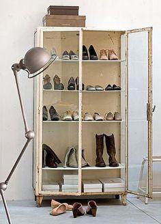 cabinet, lamp