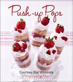 Push-up Pops are the next big thing in cakes and we have the book to teach you all about it! #Yum!