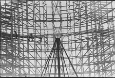 Pictured in January 1976 is AstroWorld's infamous Texas Cyclone. It opened in the summer of 1976 and was a replica of the Coney Island Cyclone roller coaster. The track required 336,000 feet of boards and 14,000 feet of linear track. Photo: Blair Pittman, Houston Chronicle