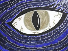 Dragon Eye Art Project for Middle School Visual Art Lessons, Art Lessons For Kids, Art Activities For Kids, High School Art, Middle School Art, Dragon Eye Drawing, Medieval Art, Medieval Times, Art Rubric