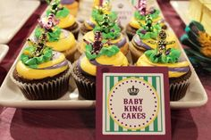 Baby King Cakes for Mardi Gras!
