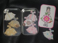 Paper Dolls in an Altoid Tin!! Oh the cuteness!