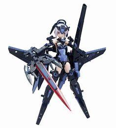 アクションフィギュア「武装神姫」の一例。島田フミカネデザインの天使型神姫「アーンヴァルMk.2 テンペスタ」(2012年3月15日発売/8,400円)