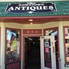 Downtown Antiques & Collectibles - West Branch, MI, United States. Downtown Antiques & Collectibles