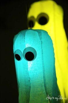 Glow In The Dark Ghost Craft