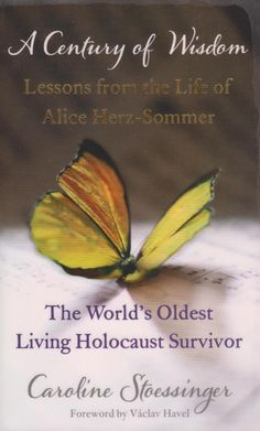 The story of Alice Herz-Sommer, a Jewish pianist from Prague who was at her death the world's oldest Holocaust survivor. In the documentary, she discusses the importance of music, laughter and an optimistic outlook on life. Herz (1903–2014) died at her home in Belsize Park, London, aged 110. Author: Caroline Stoessinger