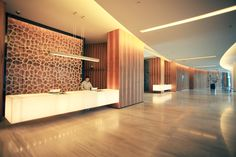Office Reception, EAST Hotel | Benoy