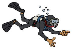 The funny diver Ministry, Paintings, Cartoon, Children, Boys, Funny, Fictional Characters, Prepping, Young Children