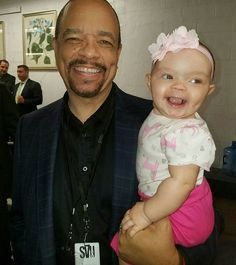 Pin for Later: Ice T's Tough-Guy Attitude Really Melts Away When He's With Baby Chanel