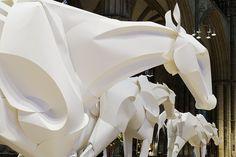 Olympic Horses by Richard Sweeney