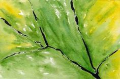 leaf study, watercolor and acrylic on 140 lb. Arches cold pressed paper. © 2014 Sheila Delgado