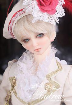 Bola Ringdoll articulada da boneca 62 centímetros BJD Adolescente Boy Andrew (em estoque, EUA)