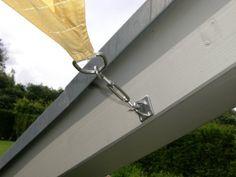 JAROLIFT Toldo vela rectangular / repelente al agua / 300 x 200 cm / beige                                                                                                                                                                                 Más