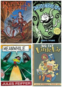 Comics and Graphic Novels for Kids