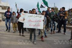تحرير الشام والحر يتفقان على إنهاء الاقتتال في مدينة معرة النعمان بإدلب والفرقة 13 ترفض