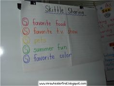 1st Day of School Ideas
