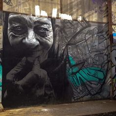 By @jeanrooble  #streetart #bordeaux #darwin #rooble #caserneniel
