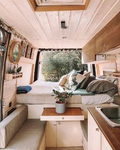 Unique van life sprinter - have a look at our articles for additional inspirations!