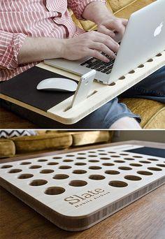 Laptop, Türkçesi dizüstü bilgisayar. Bir çok kişinin hayatında vazgeçilmezler arasında yer alan dizüstü bilgisayarların gelecekte de hayatımızda daha çok olacakları kesin gibi. Durum böyle olunca tasarımcılar da bu çok kullanılan aletler için hayatımızı kolaylaştıracak icatlar düşünmüşler. Kullanışlı Masa Verimi Arttırır Laptop masaları bilgisayarımızı kullanırken bize kolaylıklar sağlayan aletlerin başında geliyor. Kucağımızda, çalışma masamızda ya da …