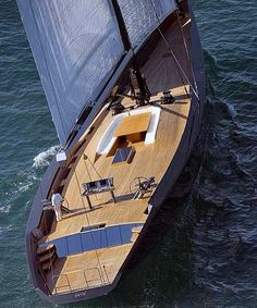 Essense By Repost from Sailboat Yacht, Yacht Boat, Yacht Design, Boat Design, Wally Yachts, Ski Nautique, Luxury Sailing Yachts, Sport Boats, Yacht Interior